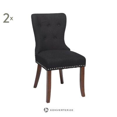 Dark gray chair adele (rowico) (whole)