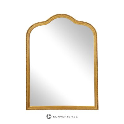 Wall mirror with gold frame (muriel) (with beauty defects. Hall sample)