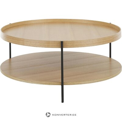 Light brown coffee table (renee) (with beauty defects., Hall sample)