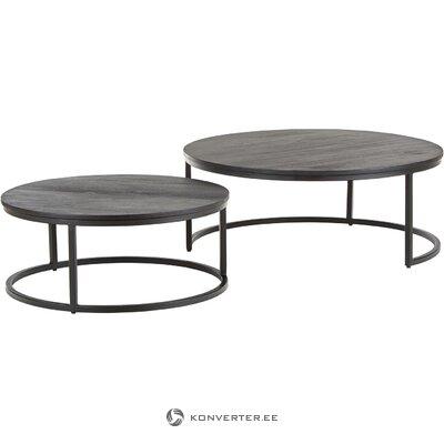 Musta sohvapöytä (andrew) (salinäyte, kauneusvirheillä)