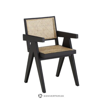 Mustanruskea tuoli (sissi) (salinäyte pienet kauneusvirheet)