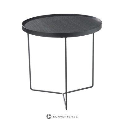 Black coffee table vivien (jolipa)