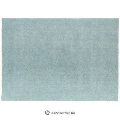 Sininen pörröinen matto (leighton)
