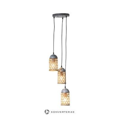 Подвесной светильник бамбук (jolipa)