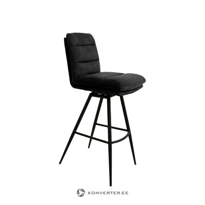 Velvet bar stool uri (canett furniture)