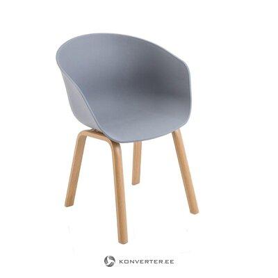 Vaaleanharmaa tuoli mork (tomasucci)