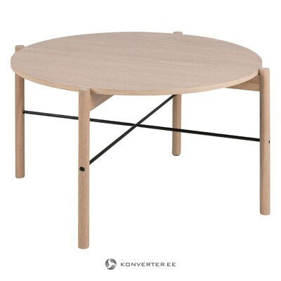 Light brown coffee table leka (actona)