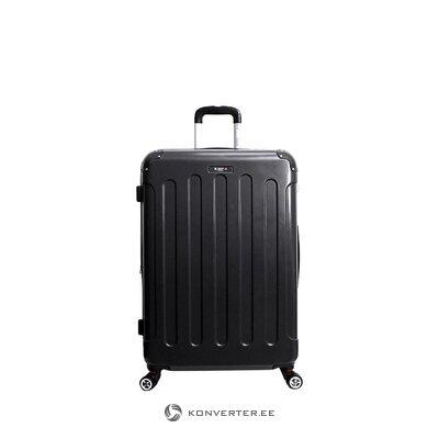 Juodas lagaminas tunise (bluestar) (defektas, salės pavyzdys)