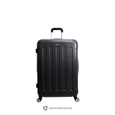 Black suitcase in tunis (bluestar) (defective, hall sample)