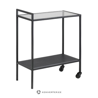 Black serving trolley seaford (actona) (whole, sample)