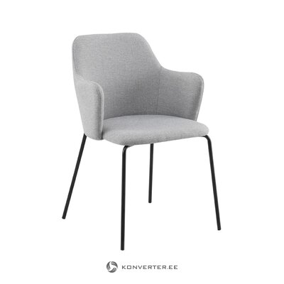 Gray chair oslo (unico milano) (dirty hall sample)