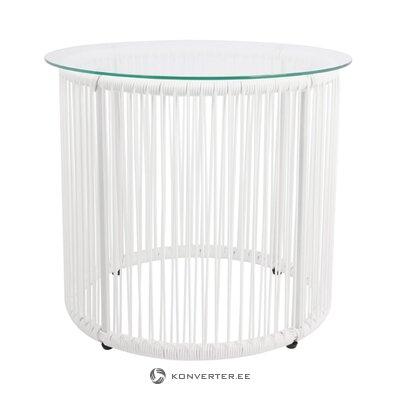 Valkoinen sohvapöytä (bahia) (salinäyte pieni kauneusvirhe)