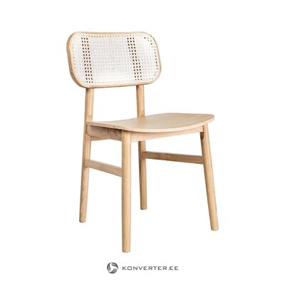 Solid wood chair rita (feeldesign) (with flaw, hall sample)