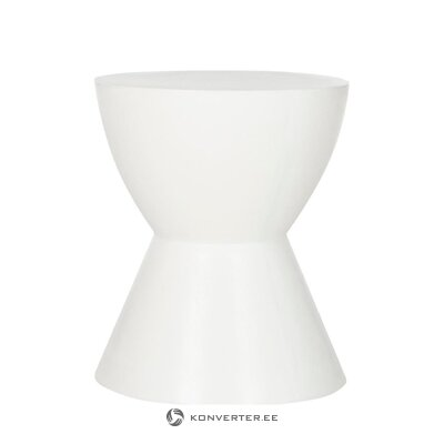White coffee table baywood (safavieh) (small bugs hall sample)