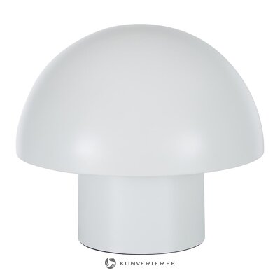 White table lamp (gloria) (hall sample, small beauty flaw)