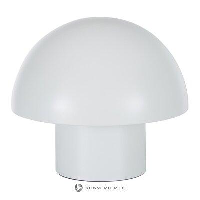 Balta stalo lempa (gloria) (salės pavyzdys, nedidelis grožio trūkumas)