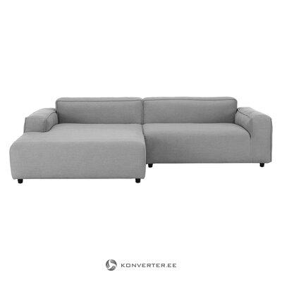 Pilka kampinė sofa (Rolf Benz)