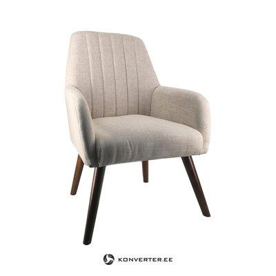 Harmaa nojatuoli Niza (moycor) (likainen salinäyte)