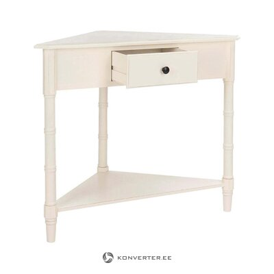 Small console table caleb (safavieh) (with beauty defects hall sample)
