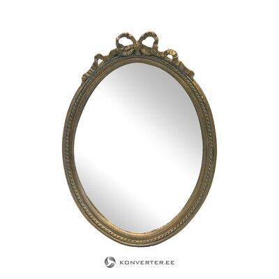 Oval wall mirror elisette (inart)