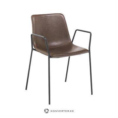 Коричнево-черный стул Виктория (Томасуччи)