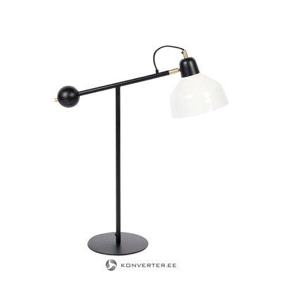 Mustavalkoinen pöytälampun asteikko (zuiver)
