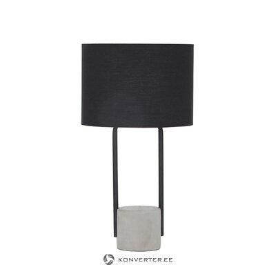Dizaina galda lampa (cauruļvads)