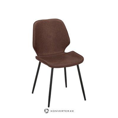 Ādas krēsls Louis (Jill & Jim) (viss zāles paraugs)