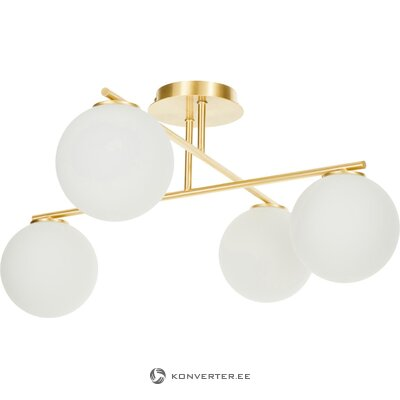 Бело-золотой потолочный светильник (атланта)