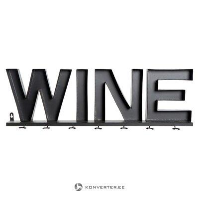 Decorative wall decoration wine (detall item) (hall sample)