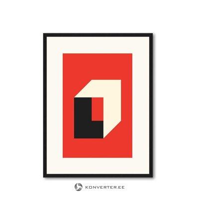 Seinapilt Bauhaus In Red (Any Image)