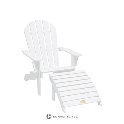 Белый садовый стул теннесси (хиллерсторп)