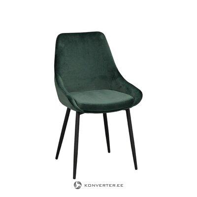 Green velvet chair sierra (rowico)