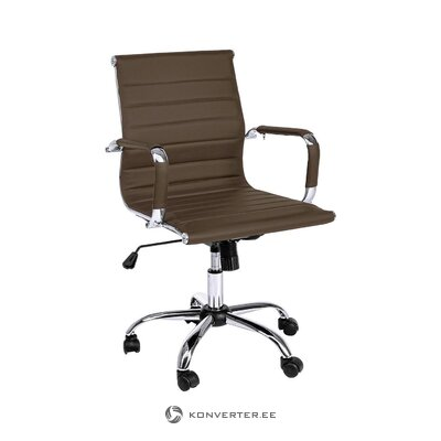 Ruda biuro kėdė Praha (bizzotto)