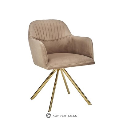 Pasukama aksominė kėdė (Lola)