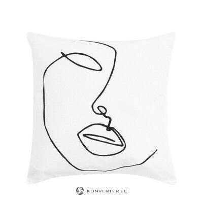 Koristeellinen tyynyliina (ariana)