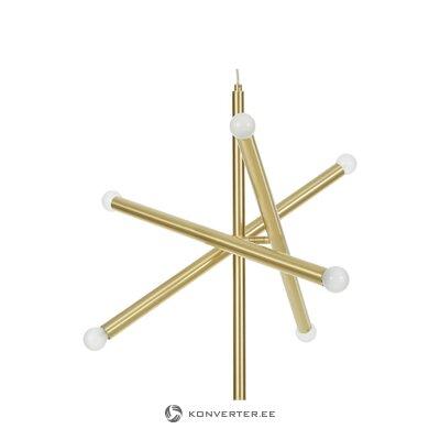 Золотой подвесной светильник (палочки)