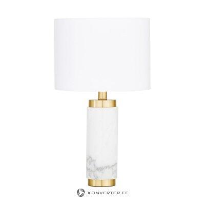 Настольная лампа из мрамора (миранда)