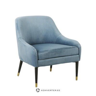Бархатное кресло евгения