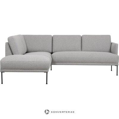 Pelēks stūra dīvāns (brīvs)