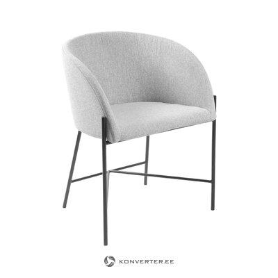 Pelēks krēsls Nelsons (Interstil Dānija) (neskarts paraugs)