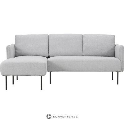 Light gray corner sofa (ramira)