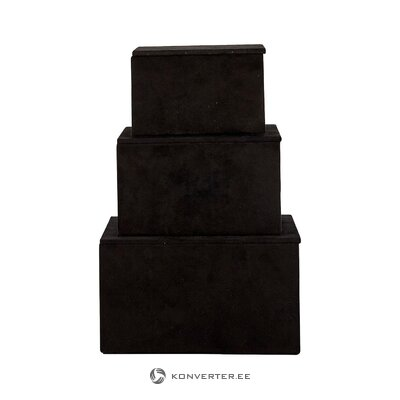 Storage box set 3-piece emma (cozy living)