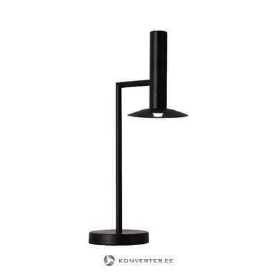 Musta led-lampun hattu (kevyt arvostus)