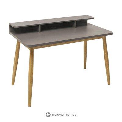 Gray desk farsta (woodman)
