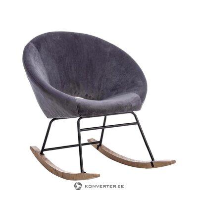 Бархатное кресло annika (bizzotto)