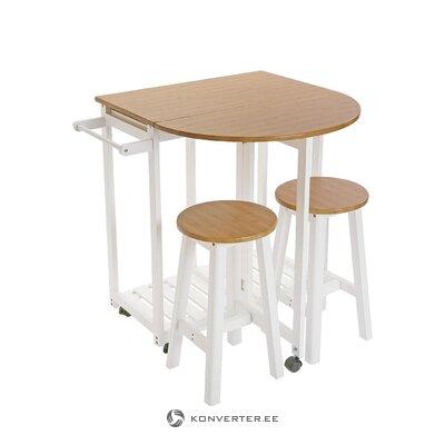 Кухонный стол и стулья maresa (наоборот)
