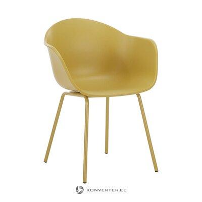 Tamsiai geltona kėdė (Claire)