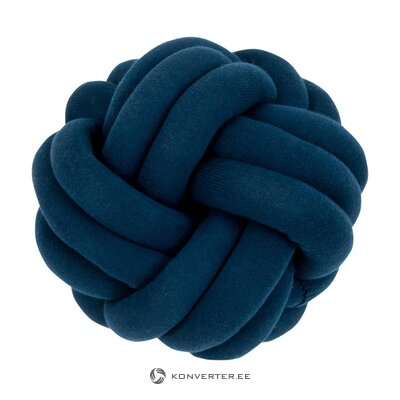 Sininen koristetyyny (kierre)