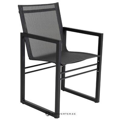 Black garden chair vevi (brafab)